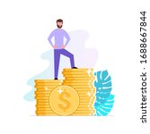 financial consultant or...   Shutterstock .eps vector #1688667844