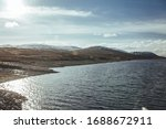 Scenic View Of The Loch...