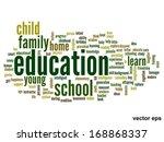 vector concept or conceptual... | Shutterstock .eps vector #168868337