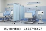 Two Intensive Care Beds With...