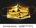 Golden Mask Covid Virus...