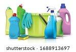 3d realistic vector household... | Shutterstock .eps vector #1688913697