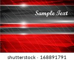red abstract background | Shutterstock .eps vector #168891791