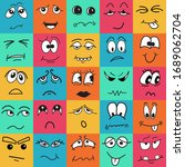 square colorful kids seamless...   Shutterstock .eps vector #1689062704