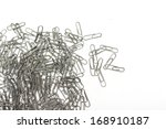 Paperclips. Photo.
