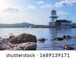 Memphremagog Lake And Mont...