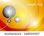 orange abstract background | Shutterstock .eps vector #168920507