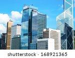 commercial buildings in hong...   Shutterstock . vector #168921365