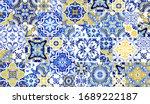 Azulejos Tile Wallpaper....