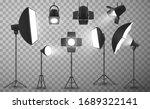 Light Equipment Of Photo Studio ...