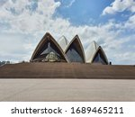 opeara house and opera bar in... | Shutterstock . vector #1689465211