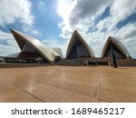 opeara house and opera bar in...   Shutterstock . vector #1689465217
