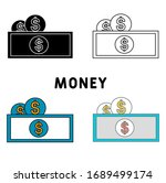 money icon in different style...