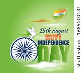 vector illustration for indian... | Shutterstock .eps vector #1689500131