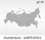 vector halftone dots black of...   Shutterstock .eps vector #1689514321