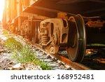 dusk  train.   Shutterstock . vector #168952481
