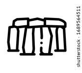 Stonehenge Icon Vector....