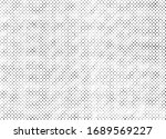 abstract grunge halftone dots... | Shutterstock .eps vector #1689569227