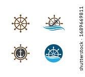Set Of Steering Ship Symbol...