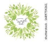 vector illustration background... | Shutterstock .eps vector #1689754261