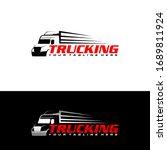 truck logo template  perfect... | Shutterstock .eps vector #1689811924