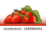 vector simple illustration of a ... | Shutterstock .eps vector #1689886801