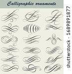 elegant  vintage  ornamental... | Shutterstock .eps vector #1689891877