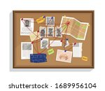 detective wall board  wits and... | Shutterstock .eps vector #1689956104
