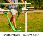 young man working out in... | Shutterstock . vector #1689956314