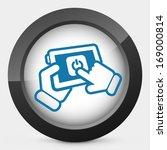 mobile power switch | Shutterstock .eps vector #169000814