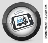 mobile car assistance | Shutterstock .eps vector #169005425