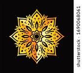 mandala graphic design for art  ... | Shutterstock .eps vector #1690068061