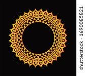 mandala graphic design for art  ... | Shutterstock .eps vector #1690085821