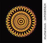 mandala graphic design for art  ... | Shutterstock .eps vector #1690085824
