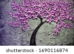 3d Wallpaper Flowers Tree Vase...