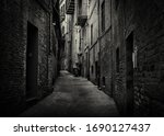 A Dark And Moody Back Alley...
