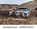 Old Abandoned Cars In The...