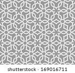 arabic seamless ornament.... | Shutterstock .eps vector #169016711