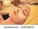 woman facial beauty   wellness...   Shutterstock . vector #169018019