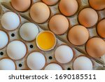 Duck Eggs And Chicken Eggs....