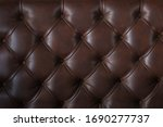 A Embossed Brown Leather Texture