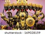 Kali Statue Inside Ashram At...