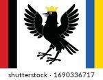 flag of ukrainian region ... | Shutterstock .eps vector #1690336717