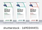 health care and medical roll up ... | Shutterstock .eps vector #1690344451
