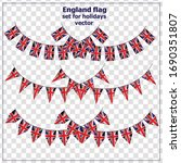 bright set with flags of... | Shutterstock .eps vector #1690351807