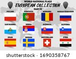 set of realistic official world ... | Shutterstock .eps vector #1690358767