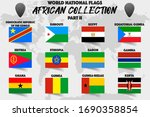set of realistic official world ... | Shutterstock .eps vector #1690358854