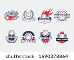collection set of bocce balls... | Shutterstock .eps vector #1690378864