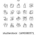 hand hygiene well crafted pixel ...   Shutterstock .eps vector #1690380571