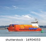 container ship | Shutterstock . vector #16904053